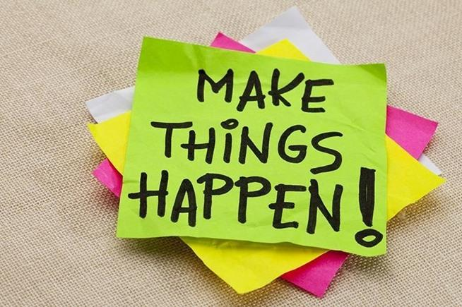 Makes things happen