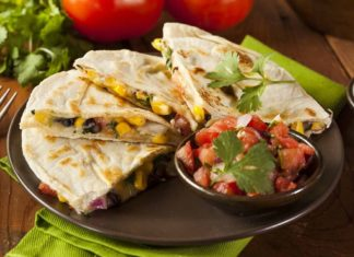 Avocado Egg Quesadilla recipe