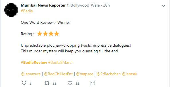 Badla Review.6